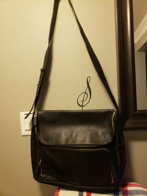 Express Black Leather Large Messenger Bag for Sale in Escondido, CA