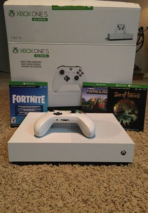 Xbox one s (includes 3 digital games) for Sale in Plano, TX
