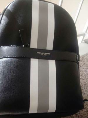 MK leather backpack for Sale in Houston, TX