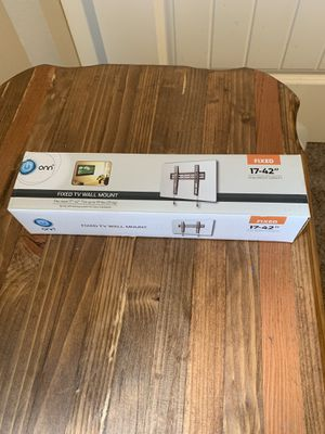 Tv wall mount 17 to 42 inch wall mount tv up to 55 pounds for Sale in Buckley, WA