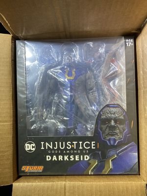 Toys! 12 Collective Darkseid and Injustice: Gods Among Us Storm Collectible Darkseid Action Figures for Sale in San Jose, CA