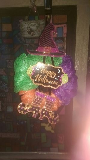 Halloween wreath for Sale in Oceano, CA