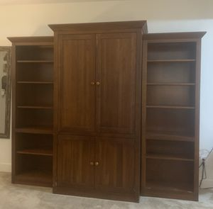 TV cabinet with 2 bookcase for Sale in Alexandria, VA