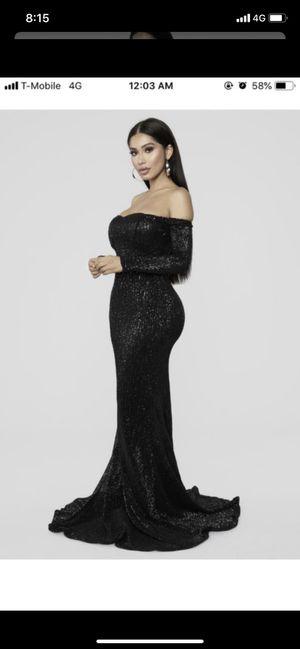 Fashion Nova Black Prom/ Homecoming Dress for Sale in Fircrest, WA