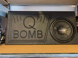 Pioneer Q Bomb speaker/800W Amp for Sale in Fort Worth, TX