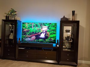 Entertainment System Wall Cabinets TV stand for Sale in Hialeah, FL