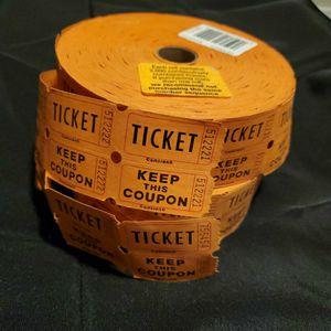 2 Raffle Tickets ORANGE for Sale in Phoenix, AZ