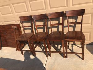 Mahogany dining room table set for Sale in Chandler, AZ