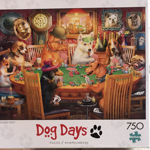 NEW!!! 750 Piece Puzzle POKER PUPS for Sale in Torrance, CA
