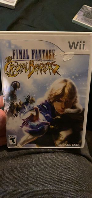 Final Fantasy Crystal Bearers with booklet for Sale in Garland, TX