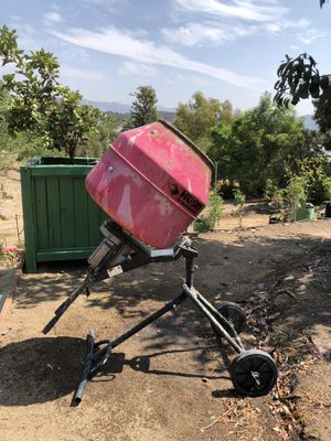 Cement mixer Husky for Sale in Spring Valley, CA