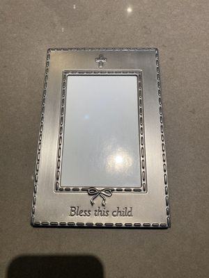 Picture frame cross for Sale in St. Charles, IL