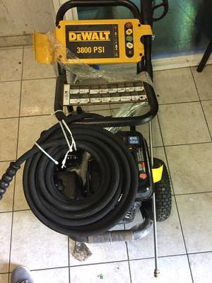3800 psi dewalt pressure washer for Sale in Galena Park, TX