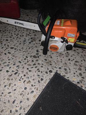 "Stihl ms 180c chainsaw. 16"" bar for Sale in Renton, WA"