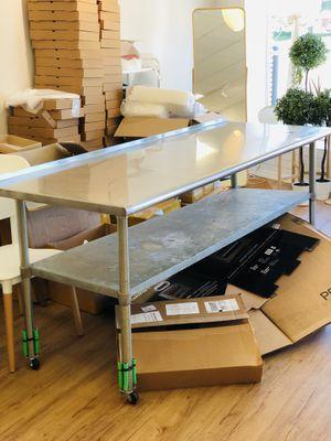 Kitchen prep table for Sale in Clinton Township, MI
