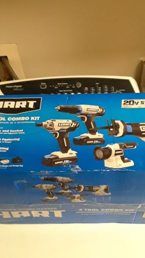 HART-4 TOOL Combo Kit-20v system for Sale in Kent, WA