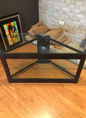 TV Stand Glass for Sale in Fairfax Station, VA
