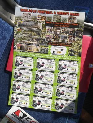 Paintball passes for Sale in Santa Ana, CA