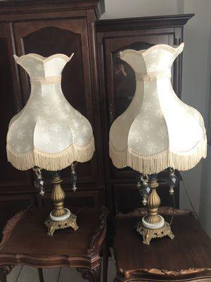 2 Antique lamps for Sale in Miami, FL