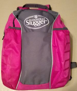 Girls Louisville Slugger brand softball backpack for Sale in Marietta, OH