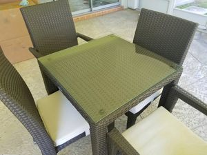 High end no rust patio outdoor balcony furniture for Sale in Pompano Beach, FL