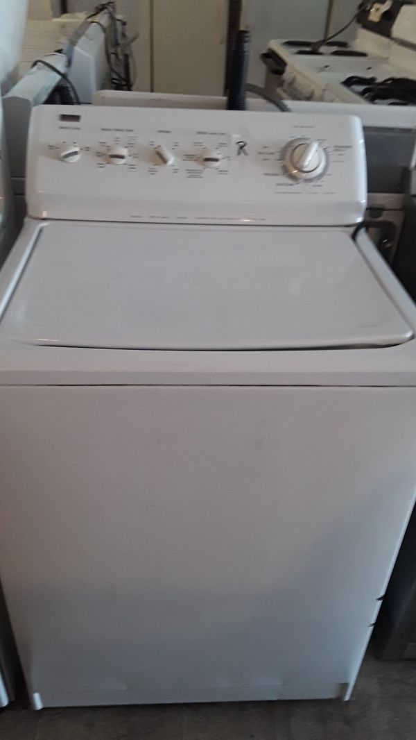 Kenmore items washer