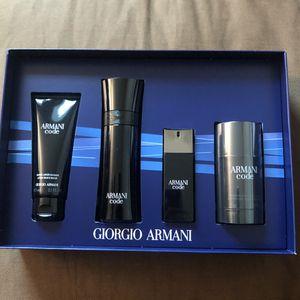 Giorgio Armani Code gift set for Sale in Martinez, CA