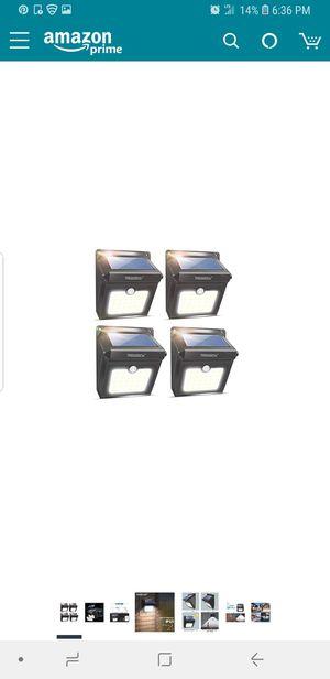 Solar lights for outside for Sale in Roseville, MI