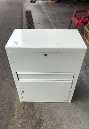 Locking metal cabinet for Sale in Tacoma, WA