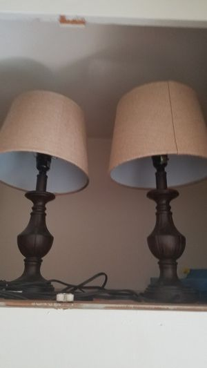 Accent Lamps NO HOLDS for Sale in South Norfolk, VA