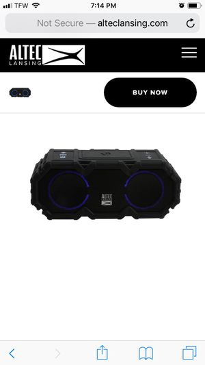 Altec Bluetooth speakers. M and Lrg size for Sale in Wichita, KS