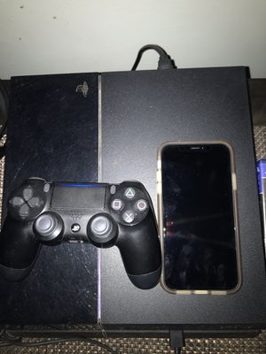 PS4 and IPhone XR Read Description for Sale in Germantown, MD
