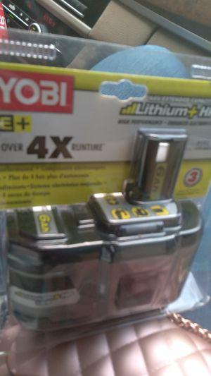 Ryobi 6ah battery for Sale in Conyers, GA