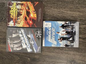 Fast and furious DVDs for Sale in Long Beach, CA