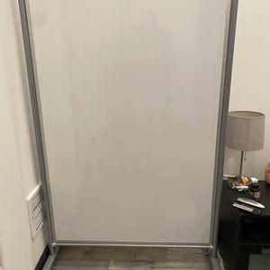 Whiteboard. 2 Sided Magnetic Base And Wheels for Sale in San Francisco, CA