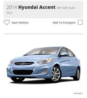 2014Hyundai AccentGLS sedan Auto for Sale in Boston, MA