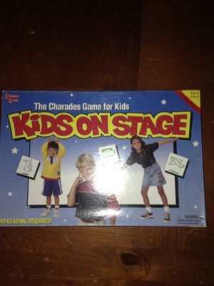 Kids on stage board game for Sale in Burlington, KY