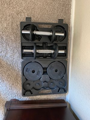 Dumbbell set for Sale in Longmont, CO