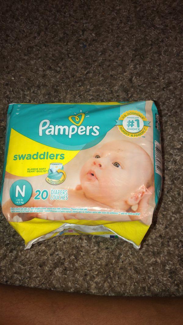 Brand new Newborn pampers