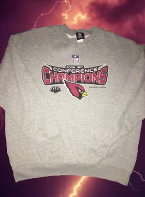 Arizona Cardinals 2008 nfl nfc conference champions vintage sweater for Sale in Mesa, AZ