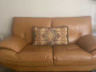 Leather Couch Sofa Need Gone Today!! for Sale in Tempe,  AZ