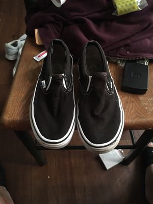 Slip on vans 7.5 men for Sale in Orlando, FL