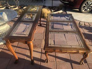 Oak Lion Feet Wood Buffet & Coffee Tables for Sale in North Las Vegas, NV