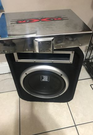 Subwoofer and amp for Sale in Wheaton, MD
