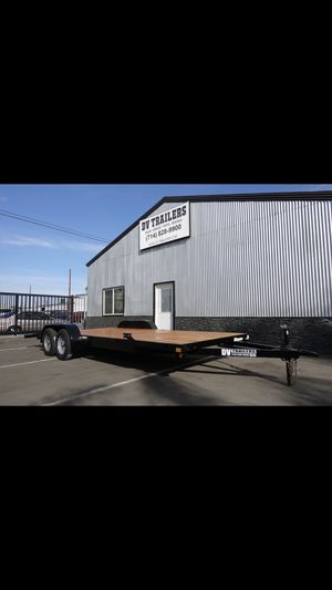 "DV TRAILERS Car-hauler 83""x20' for Sale in Garden Grove, CA"