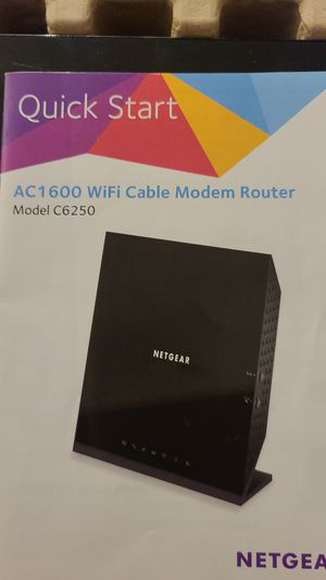 Netgear cable modem router for Sale in CORP CHRISTI, TX