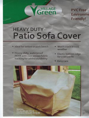 New Heavy Duty Patio Sofa Furniture Deck Cover for Sale in Riverdale, MD