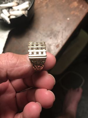 Men's 10 carat diamond ring for Sale in Fitzgerald, GA
