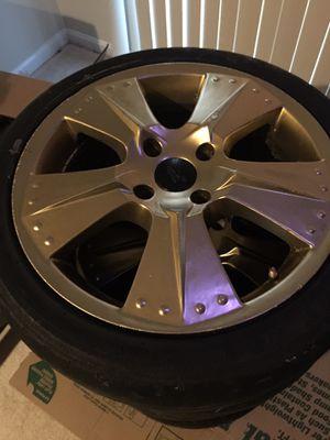 17 inch rims 4x108 bolt pattern for Sale in Glen Burnie, MD