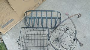 Wrought iron plant holders for Sale in Katy, TX